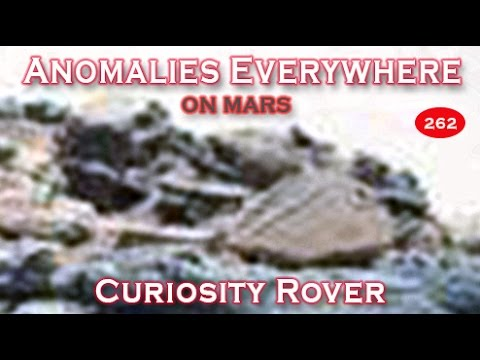 Anomalies Everywhere In NASA's Curiosity Rover SOL 709 Image Of Mars!