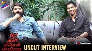 Veera Bhoga Vasantha Rayalu UNCUT INTERVIEW | Sree Vishnu | Indrasena | Shriya Saran | Nara Rohit