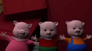 Ba chú heo con vui nhộn | Phim hoạt hình 3D hay năm 2017
