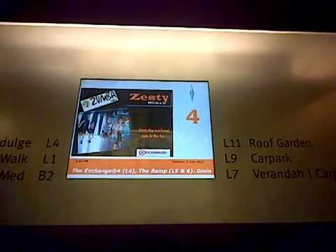 Orchard Central, Singapore: Schindler Glass Elevator (B2, 1, 4, 7, 9, 11)
