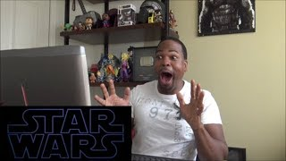 Star Wars: Episode IX – The Rise of Skywalker -  Teaser Trailer - REACTION!!!