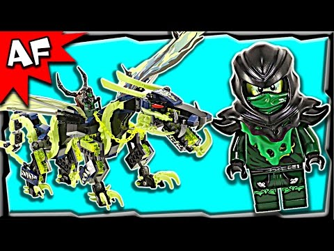 Lego Ninjago Attack of MORRO DRAGON 70736 Stop Motion Build Review