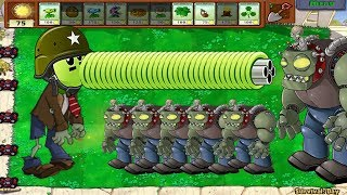 Plants vs Zombie Hack - Snow Pea vs Gatling Pea vs Dr. Zomboss