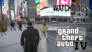 Experience Watch Dogs in Grand Theft Auto 4