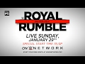 Don't Miss WWE Royal Rumble 2017 – Live Sunday, Jan. 29