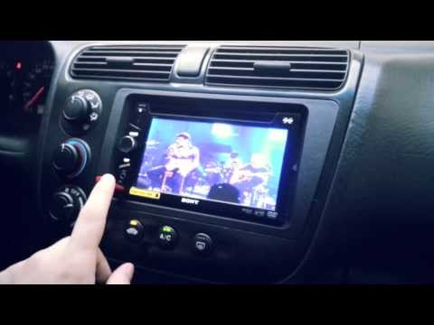 DVD Automotivo Sony XAV-63 - Central Multimidia - Funcionamento