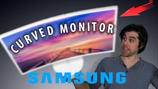 "Curved 32"" Gaming Monitor - Samsung CF391 