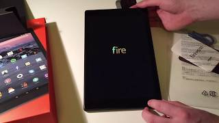 Amazon Fire HD 10 Unboxing