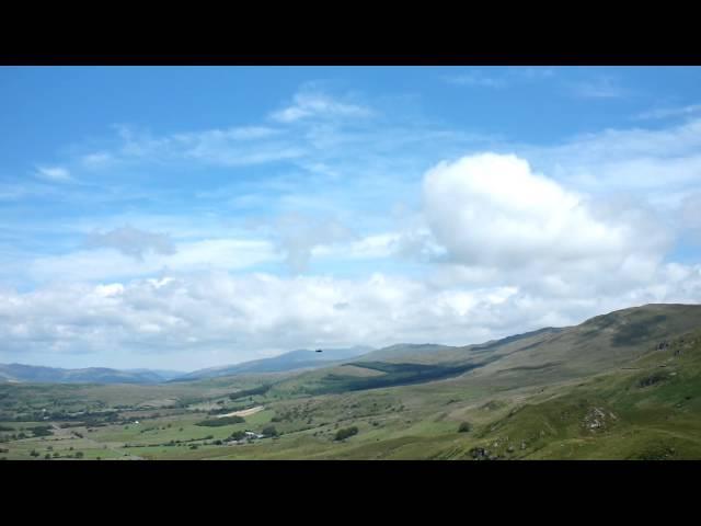 F15 through Cad West, Mach Loop, Gwynedd Wales 10/7/14