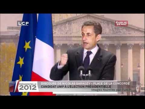 Meeting de Nicolas Sarkozy à la Concorde, 15/04/2012