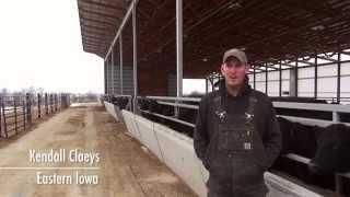 Kendall Claeys talks about choosing a Monoslope Beef Barn