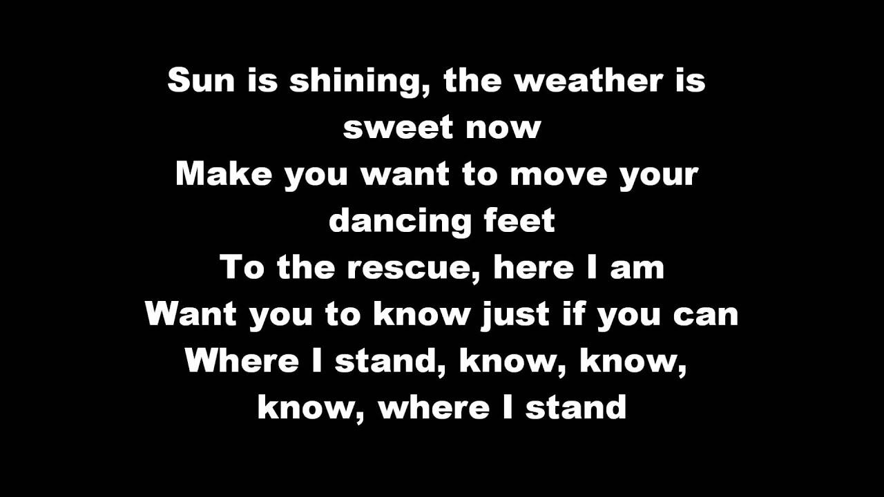 Bob Marley Sun is Shining Lyrics Sun is Shining Lyrics