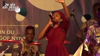 #JVJP2018: Passage de la sœur Ayawavi!(Ewe Gospel Medley)
