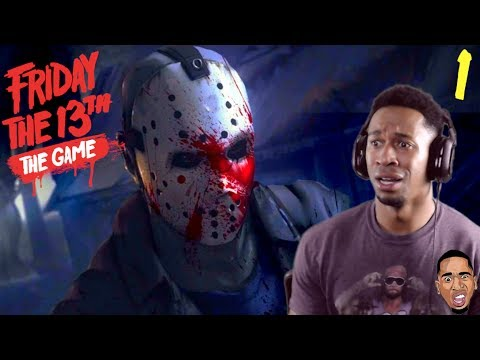 JASON IS STRONG AF!! Friday the 13th Gameplay #1