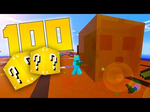 THE 100 LUCKY BLOCK RACE! (Minecraft The 100 Lucky Block Race...