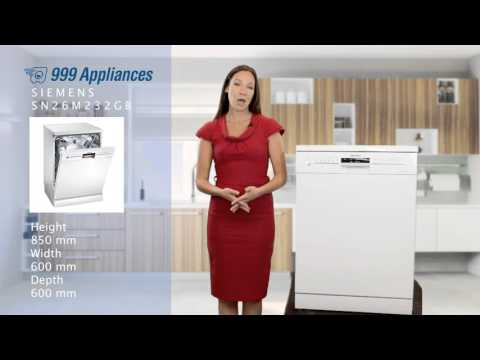 SIEMENS SN26M232GB Dishwasher Review