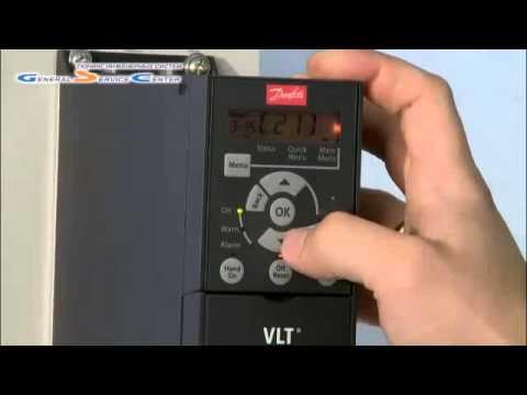 Настройка преобразователя частоты Danfoss для вентилятора