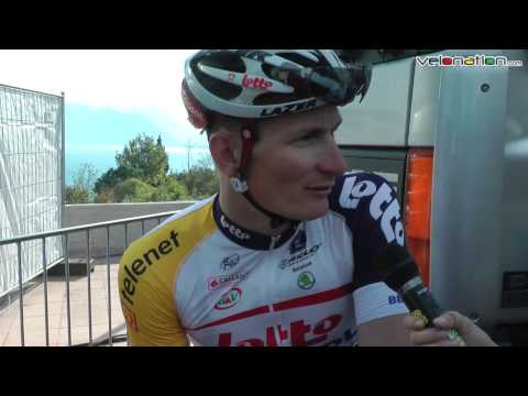 Andre Greipel stage two finish interview