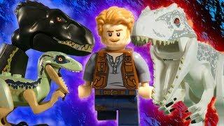 LEGO JURASSIC WORLD MEGA COMPILATION