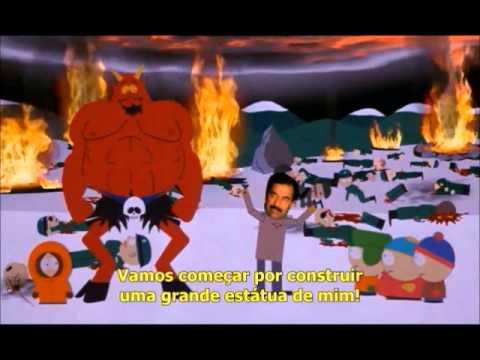 Cartman vs. Saddam Hussein(legendado)