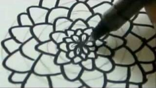 How To Draw A Flower - Carnation Flower