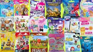 Blind Bags Toys Opening Trolls Care Bears Disney MLP TMNT Peanuts Minecraft Marvel Tsum Surprises