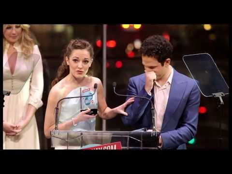 2013 Broadway.com Audience Choice Awards: Laura Osnes and Santino Fontana Win Favorite Onstage Pair