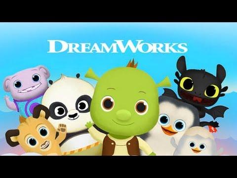 Шрек и его друзья Доброе утро  Герои мультиков Дом Как приручить дракона и др Мультик игра для детей