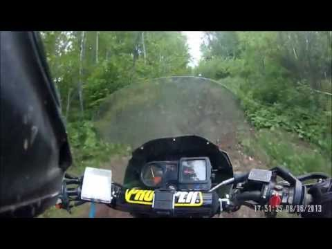 Ride for research 2013 - Wisconsin Dual Sport riders - KLR 650