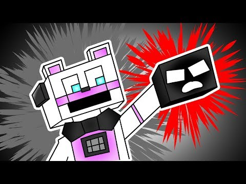 Minecraft FNAF: Funtime freddy kills a giant monster?! (Minecraft Roleplay)