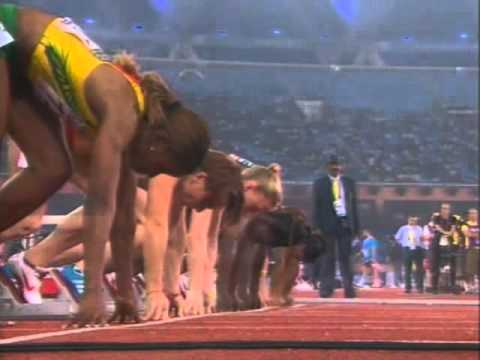 Commonwealth Games Delhi 2010 Women's 100m Final - Sally Pearson Wins Gold In 100m Final