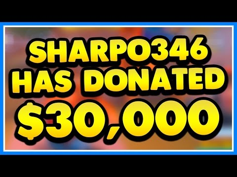 GETTING DONATED $30,000 ON STREAM REACTION!!! (Roblox Jailbreak Live Stream 4/29/17)