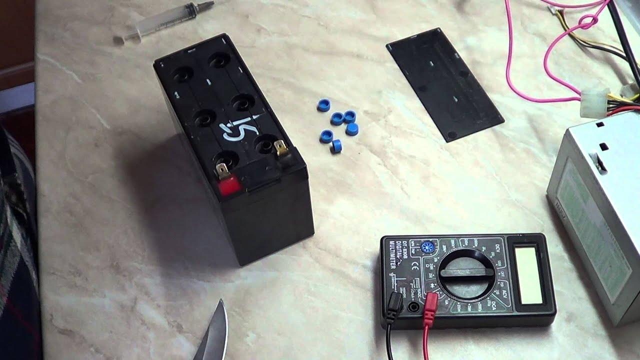 Ремонт и модернизация светодиодного аккумуляторного фонаря