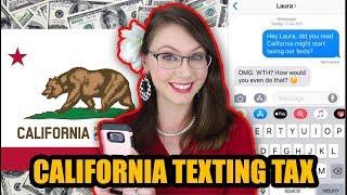 California Proposes Texting Tax