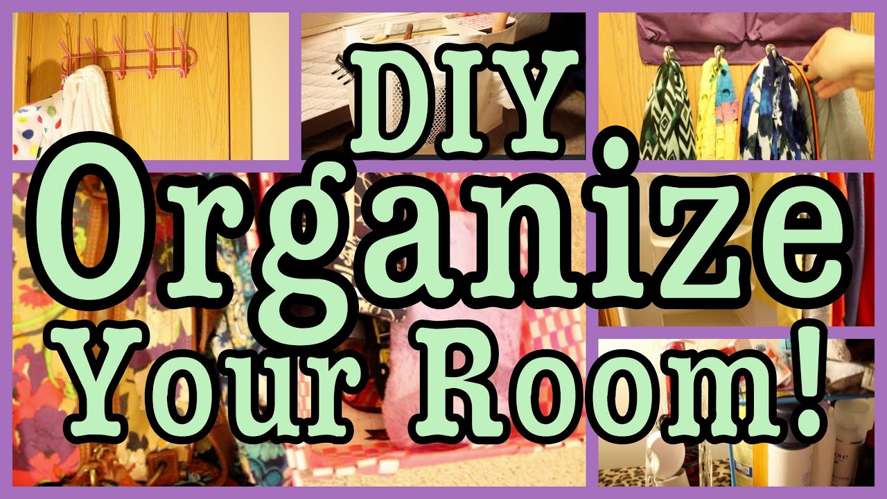 Organize Amp Maximize Your Room Closet Amp Bathroom Youtube