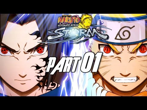 Naruto: Ultimate Ninja Storm - Walkthrough Part 1, Gameplay PS3