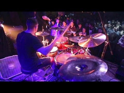 Intervals - Libra [Troy Wright] Drum Cam Live [HD] thumbnail