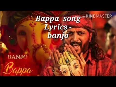 Bappa song lyrics - banjo