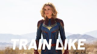 Brie Larson's Captain Marvel Workout Explained by Her Trainer | Train Like a Celeb | Men's Health