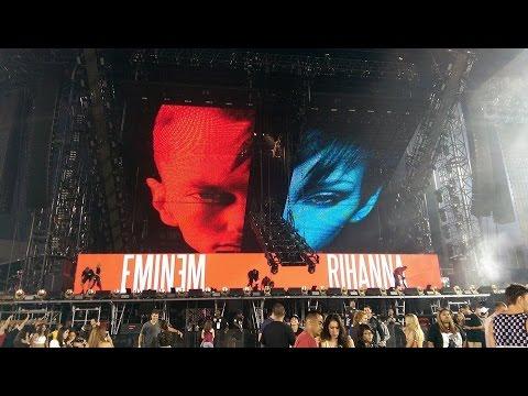 Eminem and Rihanna The Monster Tour Pasadena 2014 Rose Bowl (August 8)