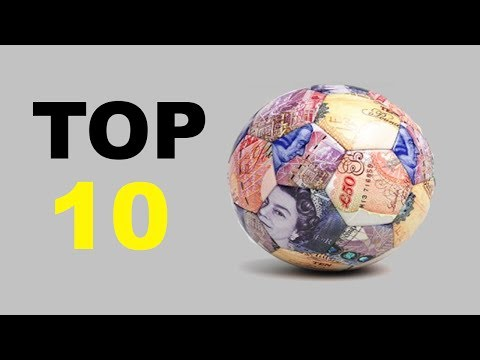 TOP 10 | MOST EXPENSIVE FOOTBALL TEAMS