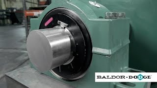 Baldor-Dodge hydraulic ISAF mounted spherical roller bearing