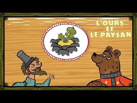 Les Contes de Masha - L'ours Et Le Paysan 🐻 (Épisode 7)