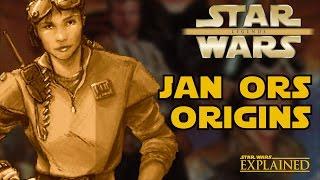 Jan Ors Origins (Legends) - Star Wars Explained