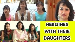 Tollywood Heroines And Their Daughters