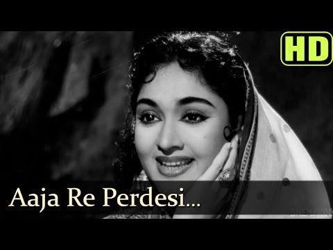 Aaja Re Pardesi Main (HD) - Madhumati Songs - Dilip Kumar -...
