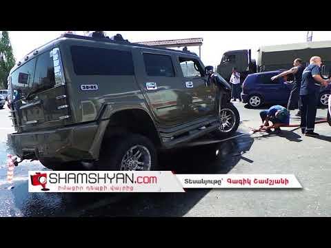 Խոշոր ու ողբերգական ավտովթար Երևանում. բախվել են Nissan-ը, Hummer-ն ու Opel-ը