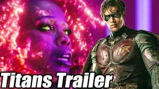 "TITANS Trailer Oficial (Sub Español) + Analisis - ""F**K BATMAN"""