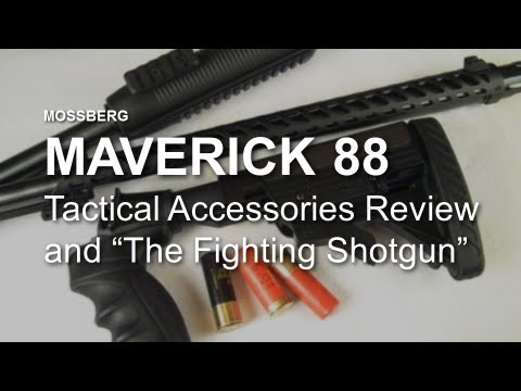 Maverick 88 Tactical Accessories Review & Battle Road USA