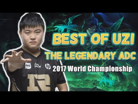 Best Of Uzi, The Legendary ADC Without A Title - 2017 World Championship